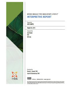 myers-briggs-interpretative-report