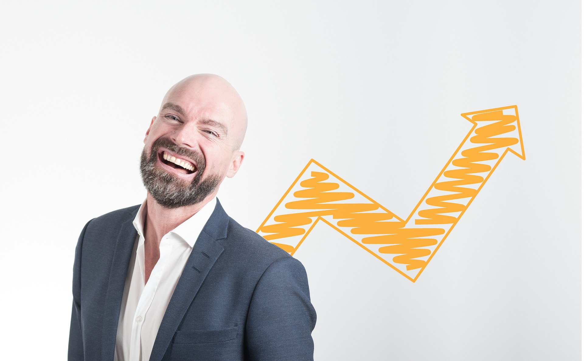 smiling man business coach