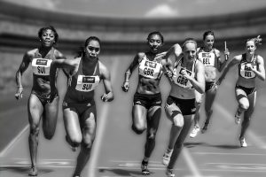 Image of relay-race